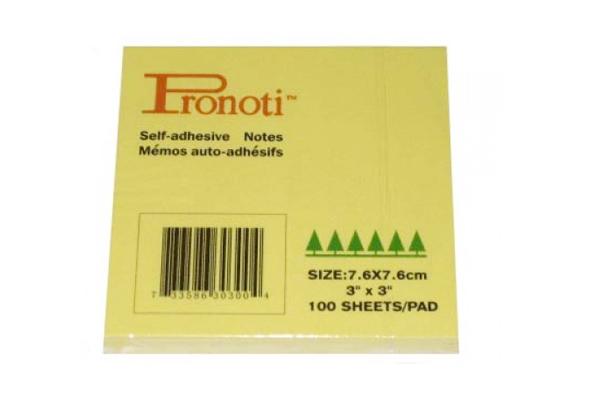 Giấy note Pronoti size 7.6x7.6 cm (3x3)