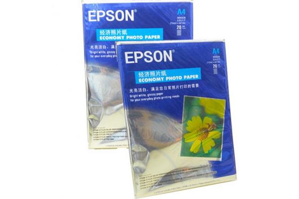 Giấy in ảnh  EPSON A4 20 tờ